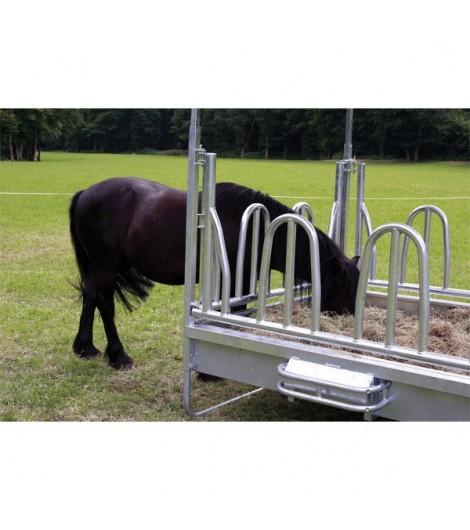 Dreipunkt-Schutzbügel für Viereck- und Großballenraufen