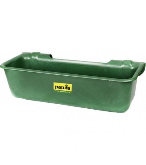 Kunststoff-Langtrog, 32 Liter, grün zum Einhängen