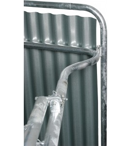 Dachkanten-Schutzbügel für Compact-Viereckraufe, vz umlaufend