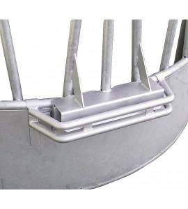 Dreipunkt-Schutzbügel für Rundraufe, vz