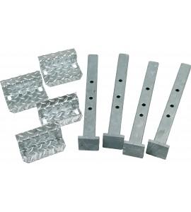 Abstellfüße und Montageplatten für Wiegebalken, für Fangstand A 5000/A 6000