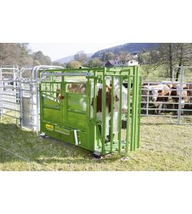 Klauenpflegeeinrichtung für A5000 Bauchgurtwinde und Hinterfußwinde mit Gurten zum Nachrüsten