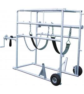Klauenpflegestand Compact-Stall, vz, 2 Räder