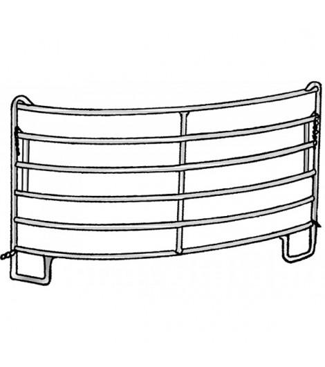 Kurven-Panel, 2,44 m, Radius 3,00 m, vz