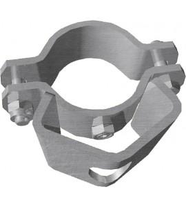 Schelle d:76 mm, 1 Riegelhalter RS1 Schelle