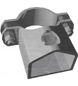 Schelle d:76 mm, 1 Riegelhalter TS1 Schelle