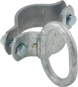 Schelle d: 76 mm, 1 Riegelhalter, vz