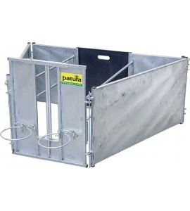Adoptionsbox für LämmerStarterset mit 2 Seitenteilenverzinkt, für Schafe
