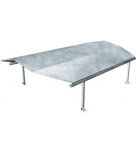 Dach für Umzäunung Kälberhütte,Typ Standard und Comfort