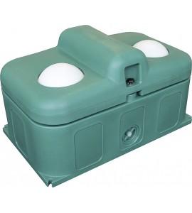 Thermo-Quell Mod. 640, 2 BälleIsolierte Tränke, 80 Liter