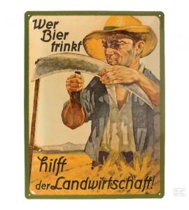 """Schild """"Bier"""""""