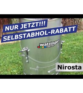 Agro-Fuchs Edelstahl Nirosta Futter-Dämpfer 80LT zur Selbstabholung