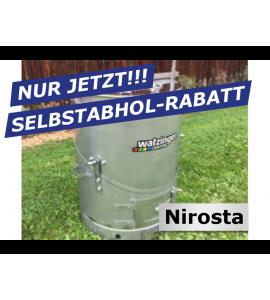 Agro-Fuchs Edelstahl Nirosta Futter-Dämpfer 100 lt zur Selbstabholung