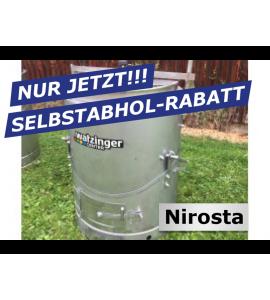Agro-Fuchs Edelstahl Nirosta Futter-Dämpfer 120 lt zur Selbstabholung