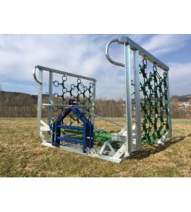 AF - Wiesenegge 6m 5reihig - Rahmen verzinkt