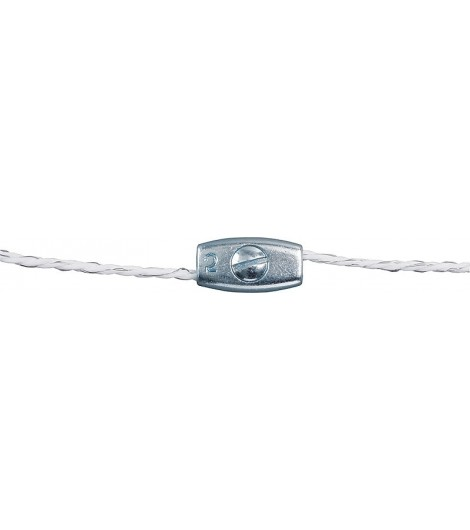Litzenverbinder verzinkt, für Litzen bis 2,5 mm (5 Stück / Pack)