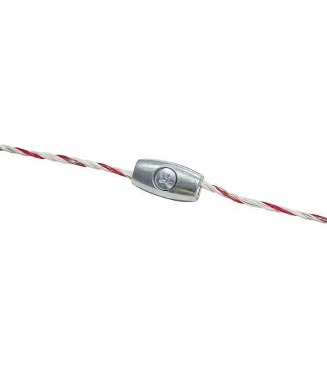 Litzenverbinder verzinkt, für Litzen bis 2,5 mm (10 Stück/Pack)