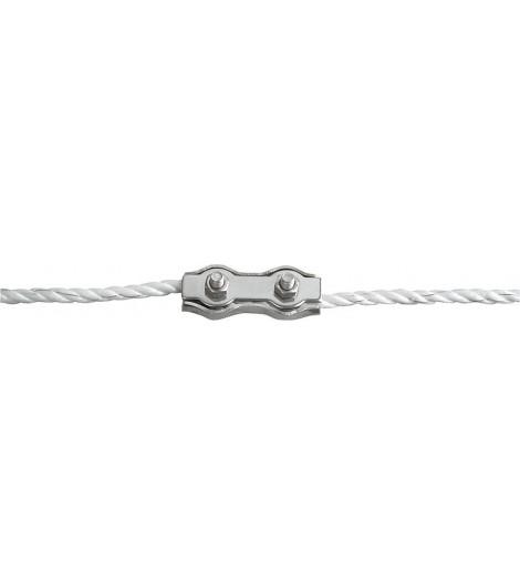 Seilverbinder Edelstahl, für Seile bis 6 mm (3 Stück / Pack)
