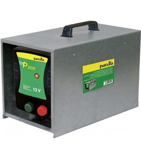 P300, Weidezaun-Gerät für 12 V Akku mit Tragebox