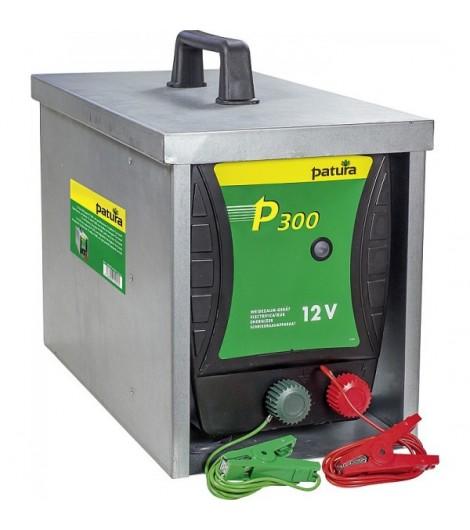 P300, Weidezaun-Gerät für 12 V Akku mit Tragebox Compact