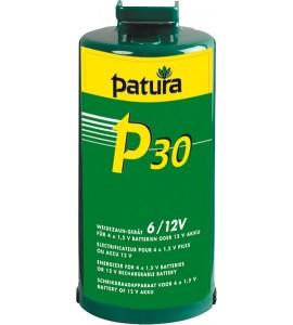 P30, Weidezaun-Gerät für 4 Monozellen oder ext. 12 V Akku