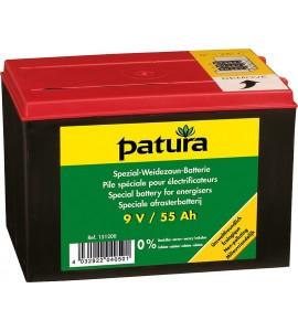 Spezial Weidezaun-Batterie 9 V / 55 Ah