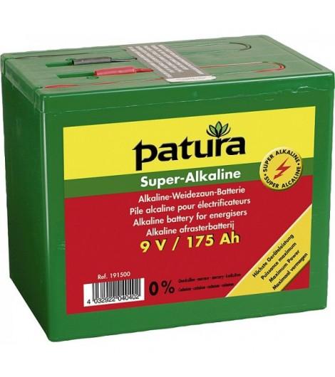 Super-Alkaline Weidezaun-Batterie 9 V / 160 Ah, kleines Gehäuse