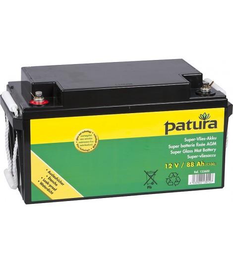 Super-Vlies-Akku 12 V / 50 Ah C100 wartungsfreie Vliesbatterie
