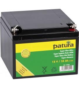 Super-Vlies-Akku 12 V / 32 Ah C100 wartungsfreie Vliesbatterie