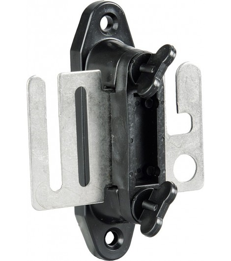 Breitband-Torgriffisolator mit Edelstahl-Anschlußplatte (2 Stück/Pack)
