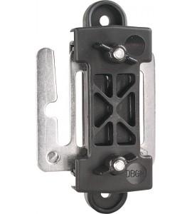 Breitband-Zug- und Eckisolator, mit Verbindungsplatte (3 Stück / Pack)