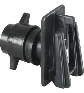 Schraub-Breitbandisolator für Pfähle bis 12 mm (10 Stück / Pack)