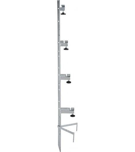 Spezial-Montagepfahl, für 4 Haspeln Zaunhöhe bis 1,35 m
