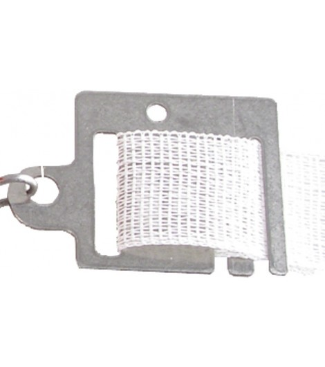 Torgriff-Anschlußplatte Edelstahl für Band bis 40 mm