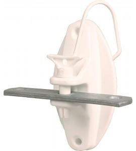 Torgriffisolator mit feuerverzinkter Verbindungsplatte (4 Stück / Pack)
