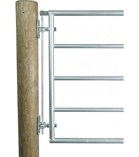 Zwischenraum-Schutzset, verzinkt für Weidetore