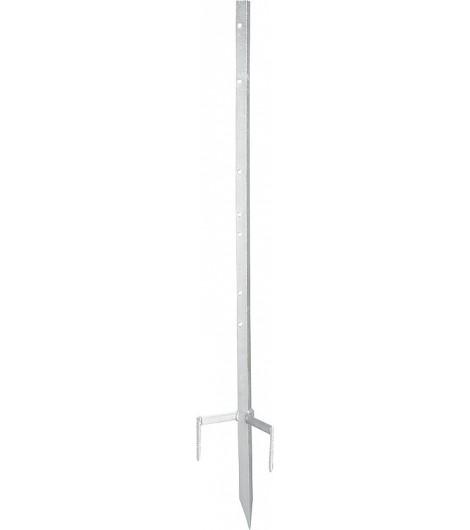 Metalleckpfahl Super, für mobile Zäune bis 0,85 m Höhe