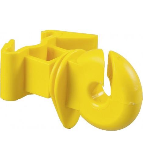 Ringisolator für T-Pfosten gelb (25 Stück / Pack)