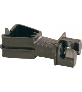 Standard-Isolator f. T-Pfosten-Rückseite schwarz (25 Stück / Pack)