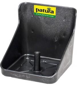 Kunststoff-Lecksteinhalter, für 10 kg-Stein, eckig