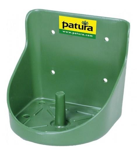 Kunststoff-Lecksteinhalter, für 10kg-Stein, rund, grün