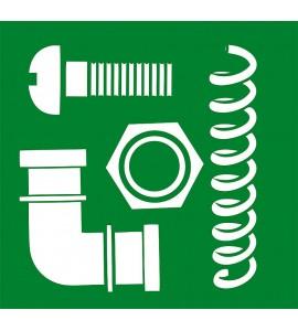 Wechseldüse S, Standarddruck 2 - 4 bar, La Buvette, (Servicepack 10 St./Pack) Mod. Forstal, Kunststoff, Farbe rot