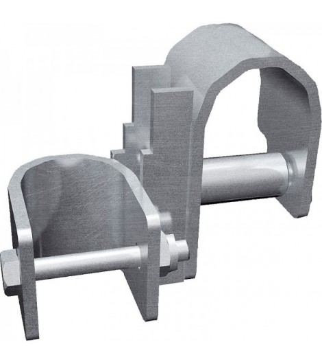 Schelle oben zum Rahmen zur Halsweiteneinstellung für Selbstfangfressgitter