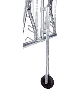Stützrad für Fressgitter
