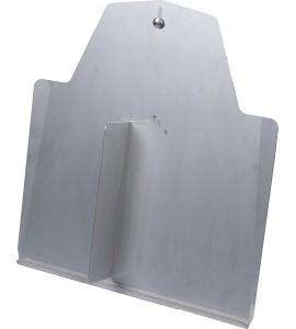 Schutzblech für Anschlussleitungen f. Schnellablauf-Trog