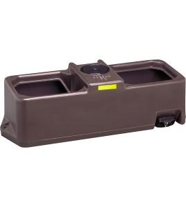 Weidetränke, eckig, 70 Liter Hochdruckventil, 960x390x350 mm