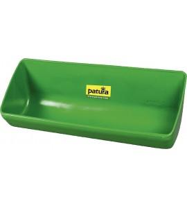 Kunststoff-Langtrog, 13 Liter, grün, zum Anschrauben